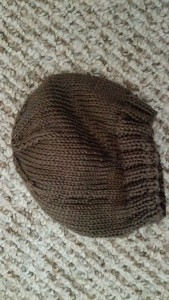 Pedro Baby Hat. Finished July 2015. In Cascade Yarns Ultra Pima.